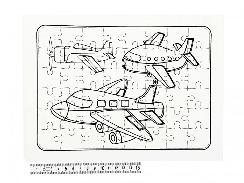 Hračky - Puzzle vykreslovací A4 PK160-2E