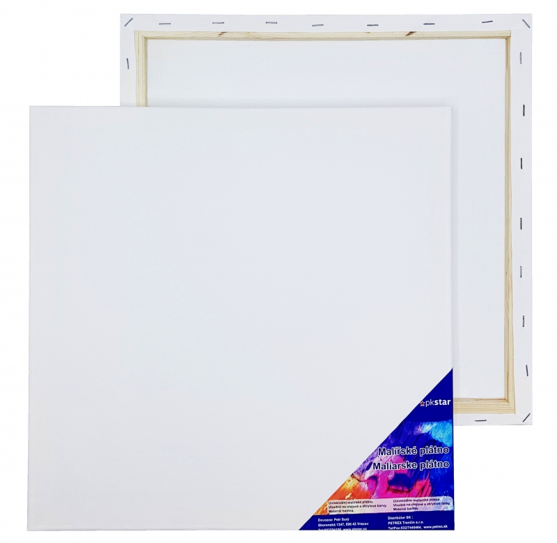 Malířské plátna-akrylové barvy - Plátno malířské 40x40cm PK53-17