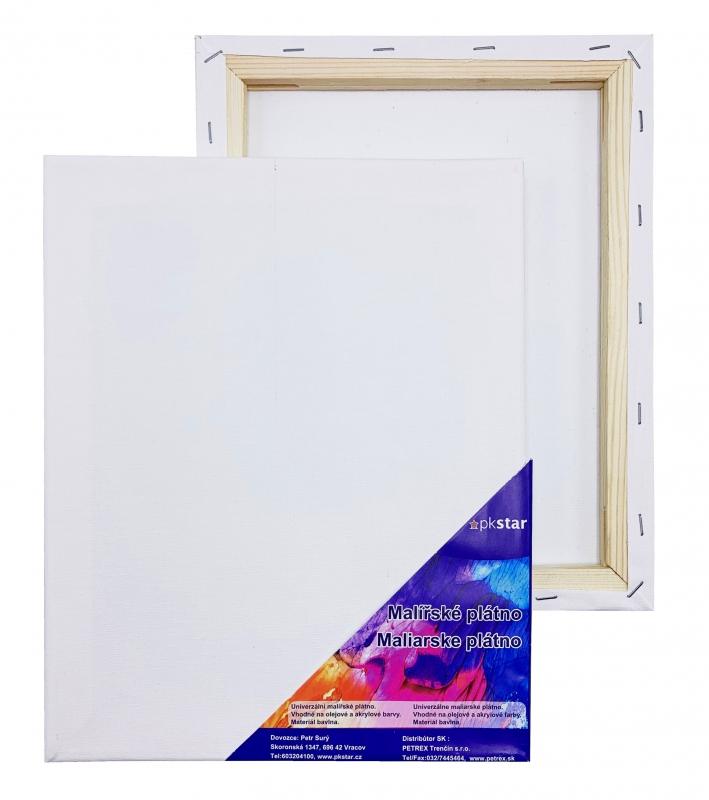 Malířské plátna-akrylové barvy - Plátno malířské 24x30cm PK53-15