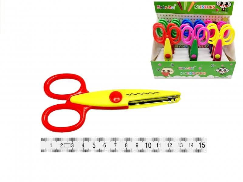 Ostatní - Nůžky zubaté 15,5cm PK12-1