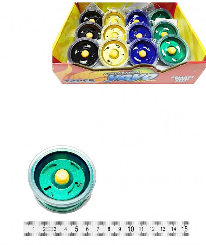 Hračky - Jo-jo kovové PK84-6