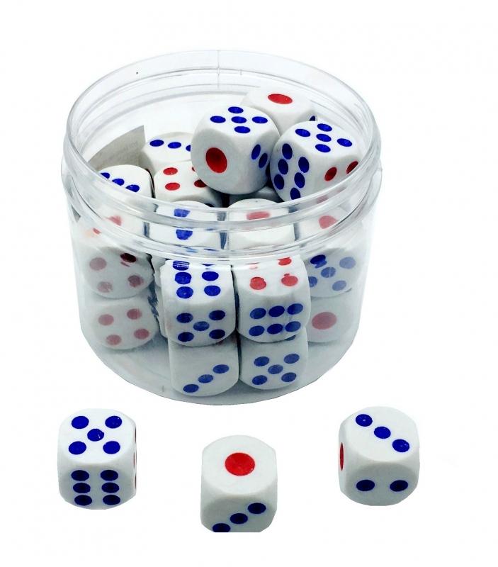 Hračky - Kostka hrací 1,8cm PK37-5
